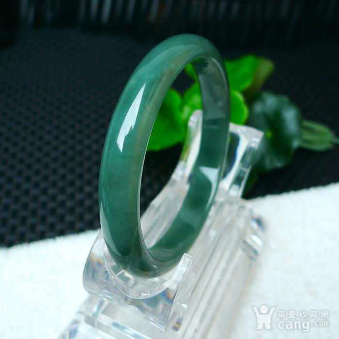 冰润满绿贵妃手镯图1
