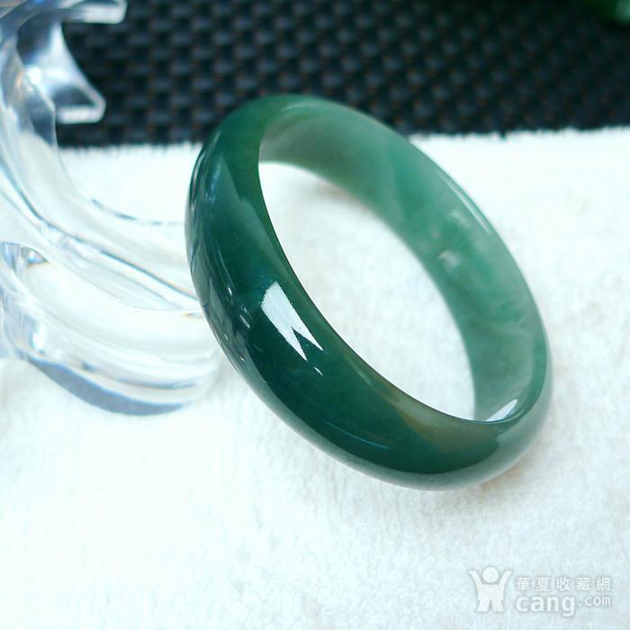 冰润满绿贵妃手镯图2