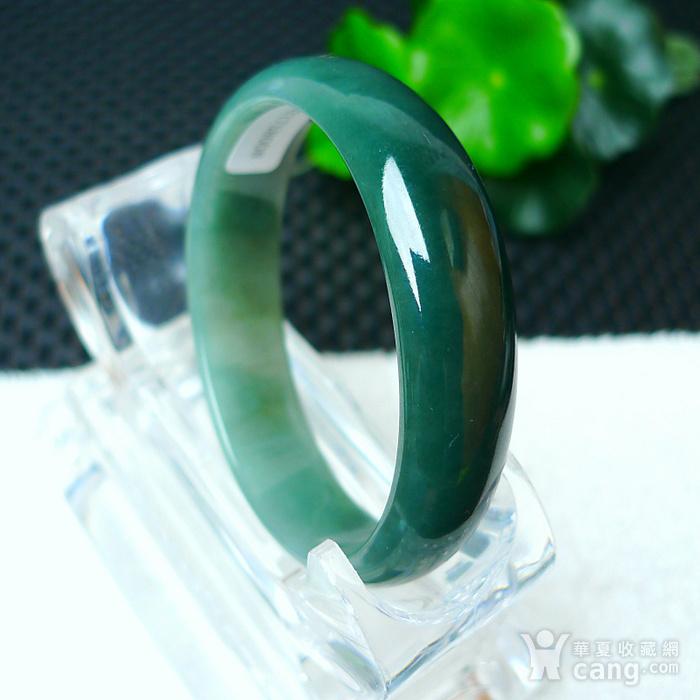 冰润满绿贵妃手镯图7