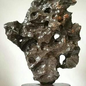 天然玲珑石奇石摆件