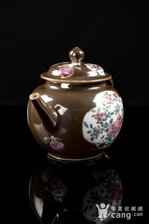 紫金釉茶壶图2