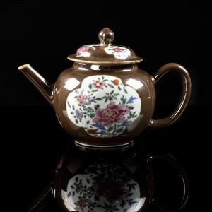 紫金釉茶壶