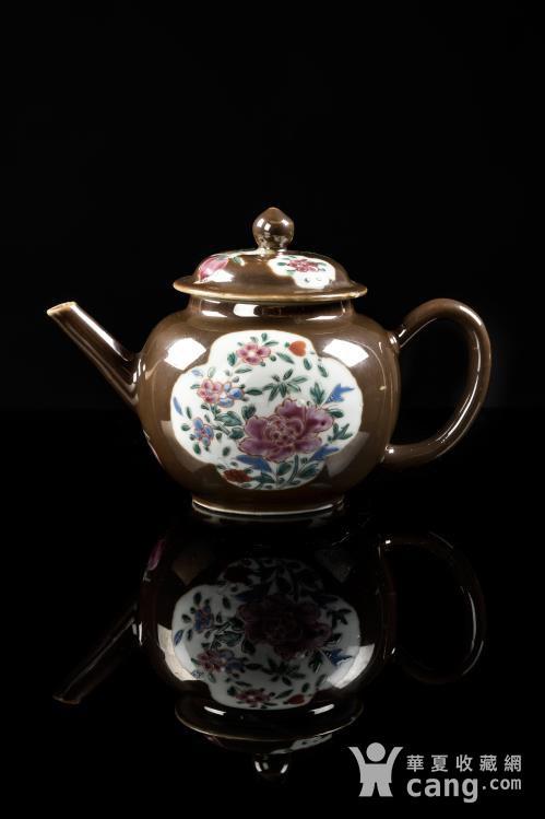 紫金釉茶壶图1