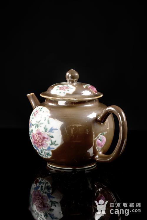 紫金釉茶壶图3