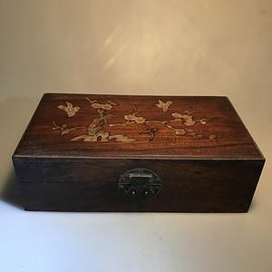 欧洲回流红木盒子