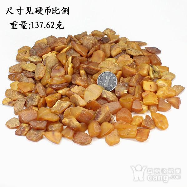 天然蜜蜡原石小料137.62克88898图1