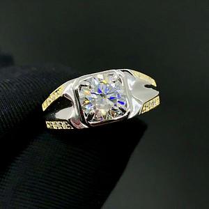 经典莫桑钻石戒指