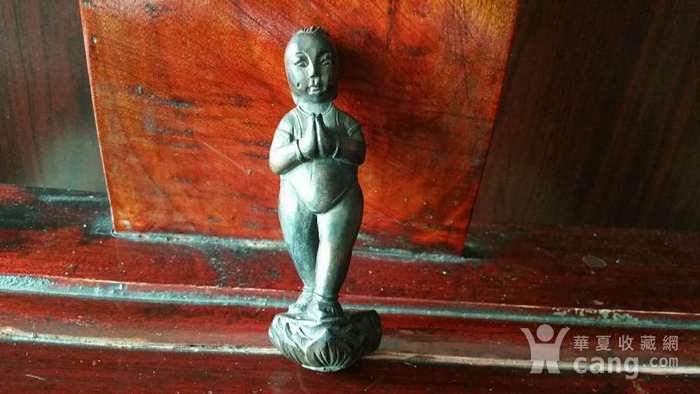 明代小木雕 善财童子图1