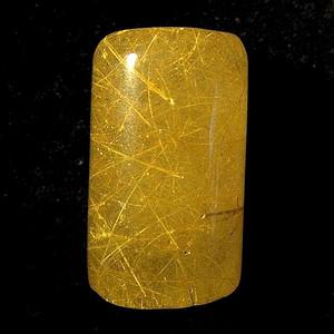 完美满金发!巴西进口纯天然金发晶超多发丝素面印章!