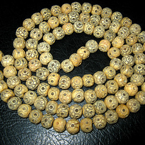 清代藏传骨质珠链