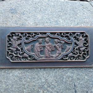 一片漂亮的楠木雕刻板