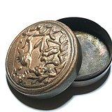 清早期 名家制作 紫铜 鹭鸶献瑞手工錾刻而成 工艺精美