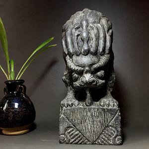 清代精品石雕 吸水神兽