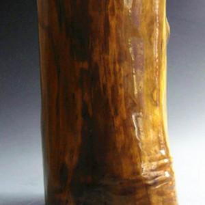 非洲酸枝黄金檀笔筒