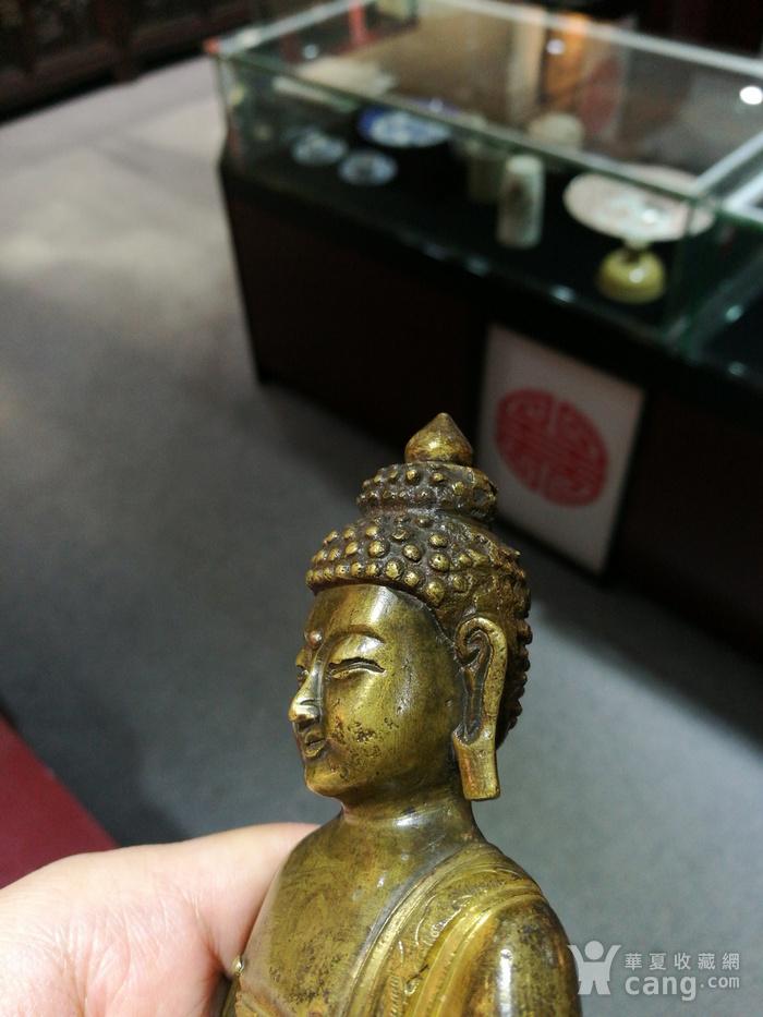 清 铜鎏金 释迦牟尼 佛像图8