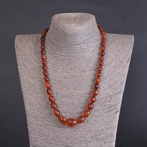 天然 琥珀 项链