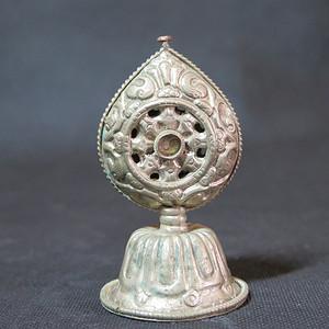 清代藏传佛教宝珠摆件