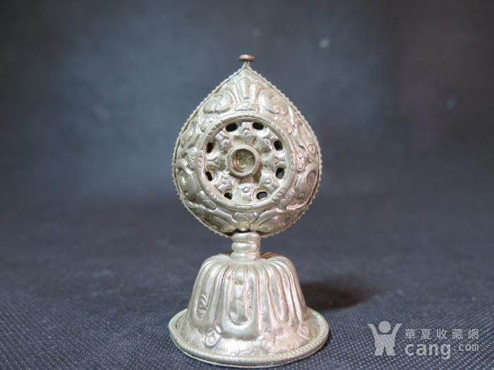 清代藏传佛教宝珠摆件图4