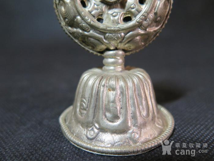 清代藏传佛教宝珠摆件图6