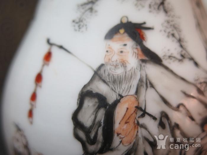 精品   清代雍正苏牧牧羊墨彩执杯图10