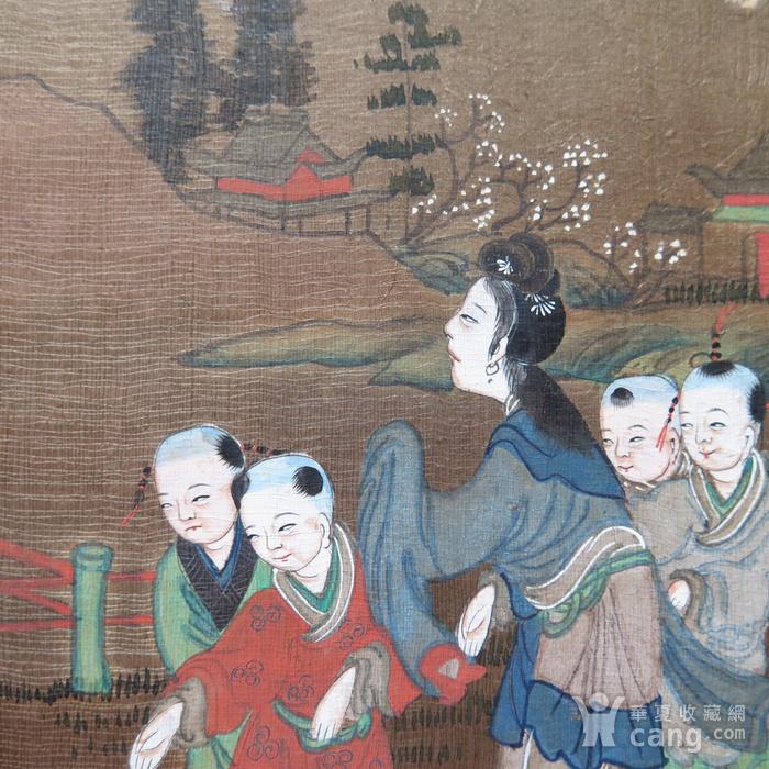 清代三娘教子册页图8