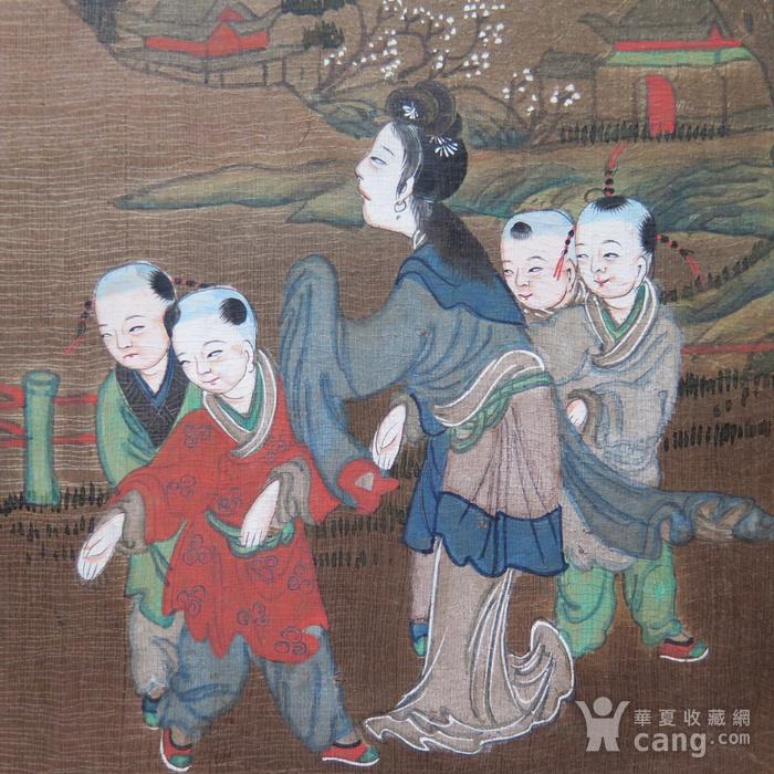 清代三娘教子册页图11