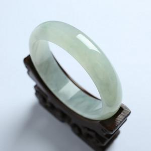 冰种翡翠扁条手镯 56mm  17KA02