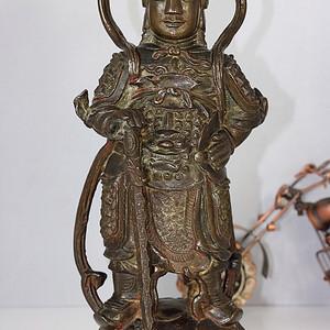 明韦陀菩萨造像