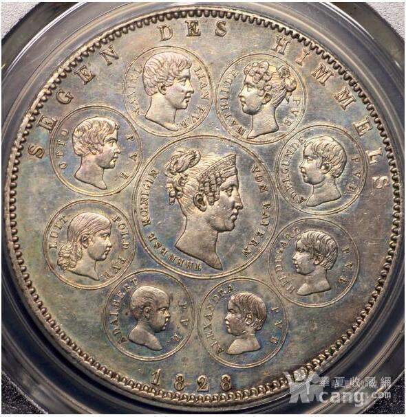 回流,压轴,巴伐利亚路德维希一世纪念银币图1