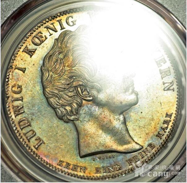 回流,压轴,巴伐利亚路德维希一世纪念银币图6