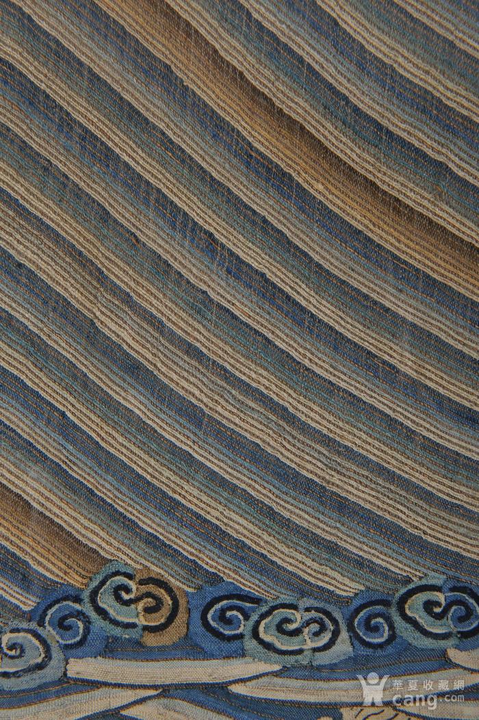 欧美回流 清 缂丝云龙海水纹条幅图10