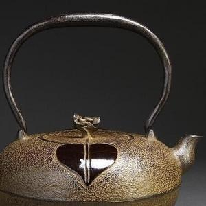 回流,日本南部盛岡,三巖堂名人造,铁壶