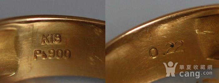 回流,独钻,双金,男式大戒指图5
