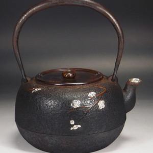 回流,日本明治期正寿堂铁壶