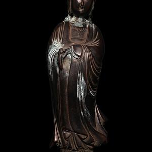 大明菩萨铜像 NA332