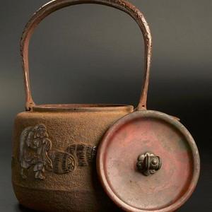 日本回流,正寿堂精品铁壶