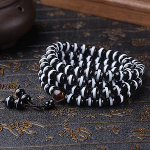 珠宝 天然一线药师珠手链108颗佛珠手串