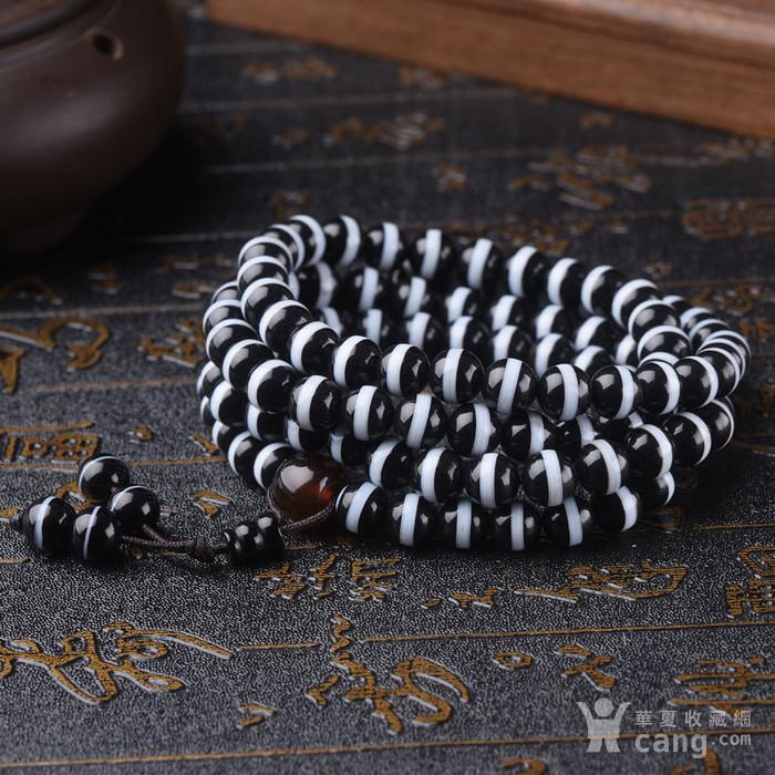 珠宝 天然一线药师珠手链108颗佛珠手串图1