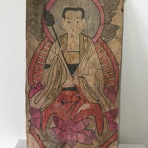清代地藏菩萨佛画