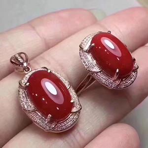 珠宝 纯天然珊瑚套装