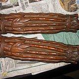 黄杨木雕竹子形