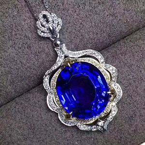 蓝宝石吊坠出货