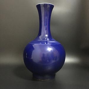 宝石蓝赏瓶