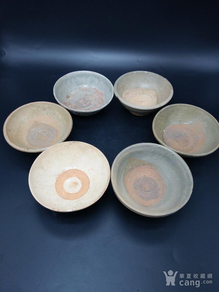 宋至明青釉碗 六件图4
