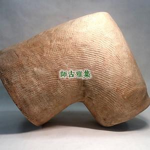 站国早期 红陶排水管节