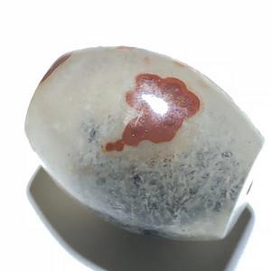 像形 天然战国红 祥云纹饰 珠子 内部带 天然包裹体 十分罕见
