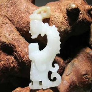 精品 清  和田籽料 精工雕刻玉质细腻至极