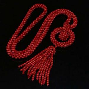 意大利沙丁shanhu米珠手工穿方圆毛衣链