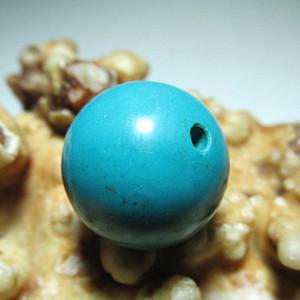 小有年头 原矿高瓷高蓝 近乎满肉 睡美人 松石