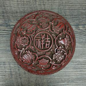 旧藏漆器首饰盒